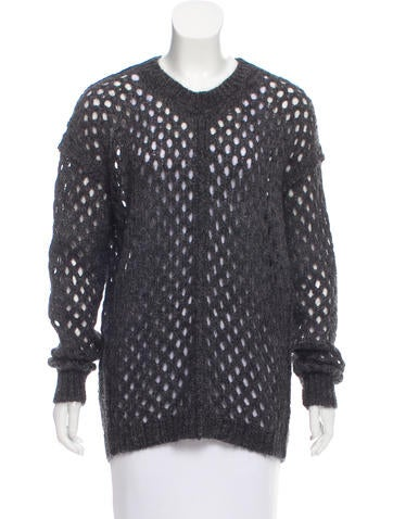 Isabel Marant Mohair-Blend Sweater None