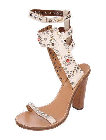 Elvis Leather Sandals