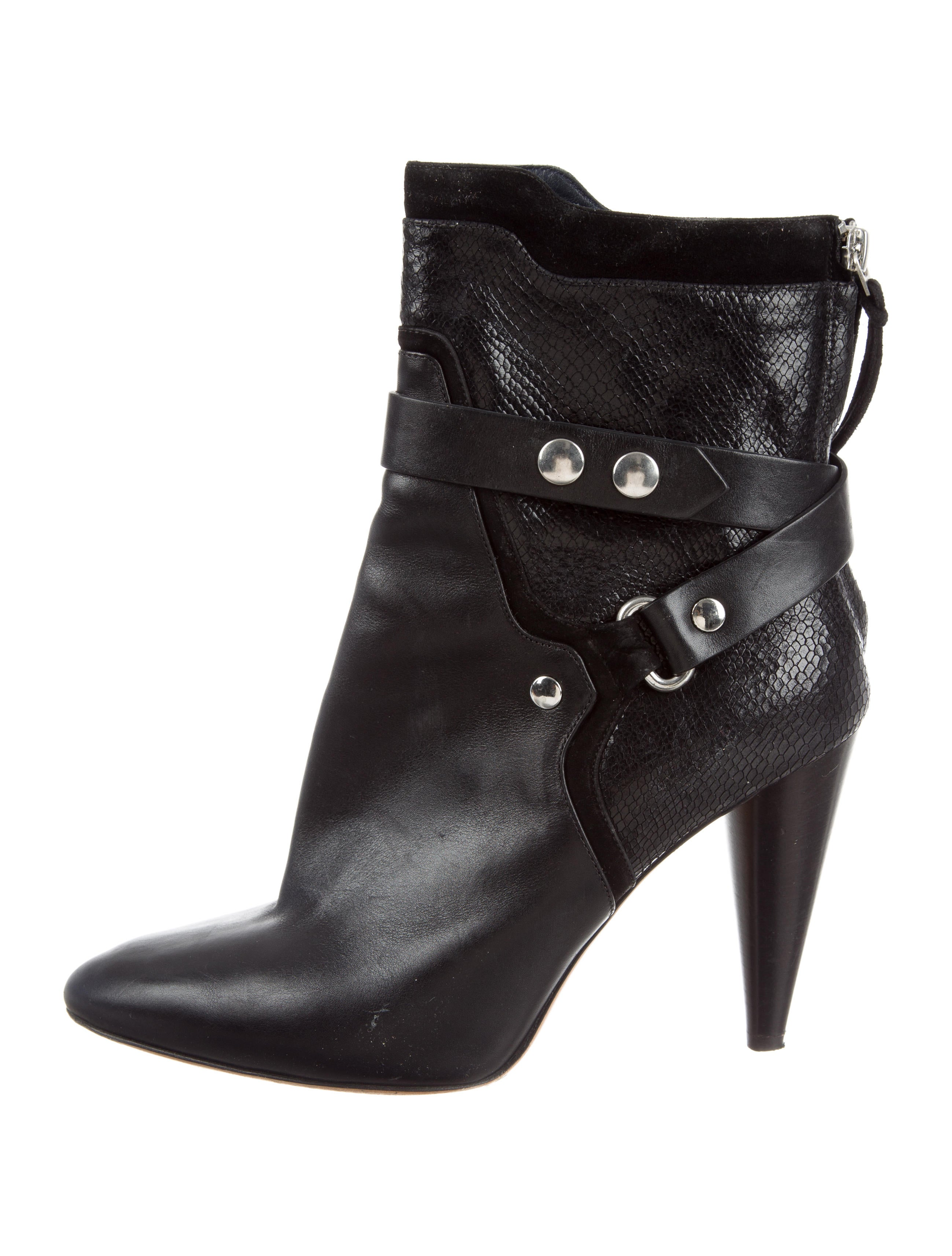 Isabel Marant Raya Pointed-Toe Booties cost high quality cheap price nicekicks for sale clearance exclusive new styles for sale srZzJNXm9P