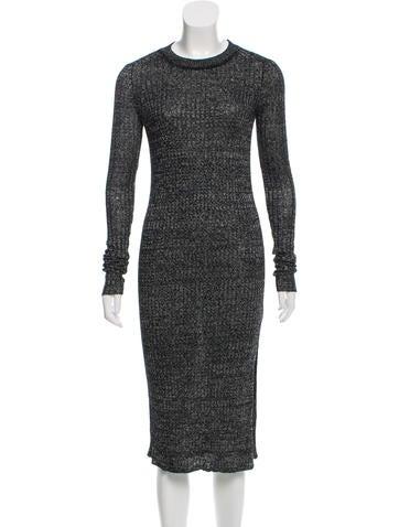 Isabel Marant Linen & Wool-Blend Sweater Dress w/ Tags None