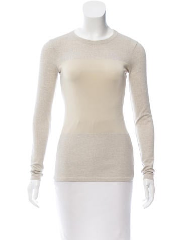 Isabel Marant Wool-Blend Knit Top None