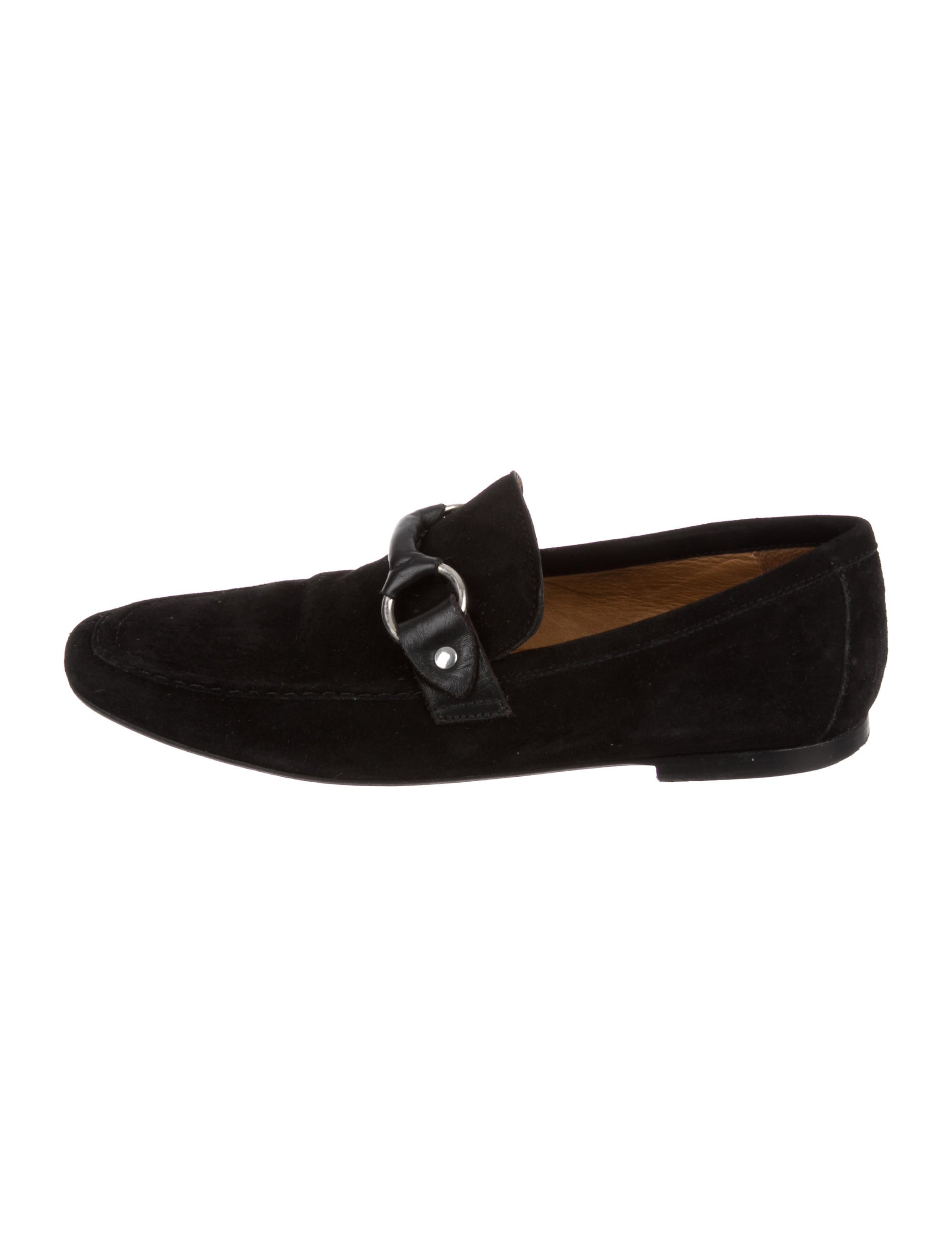 Isabel Marant Suede Square-Toe Loafers sale amazing price tREgW