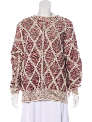 Isabel Marant Patterned Wool Sweater w/ Tags None