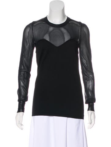 Isabel Marant Long Sleeve Knit Top None