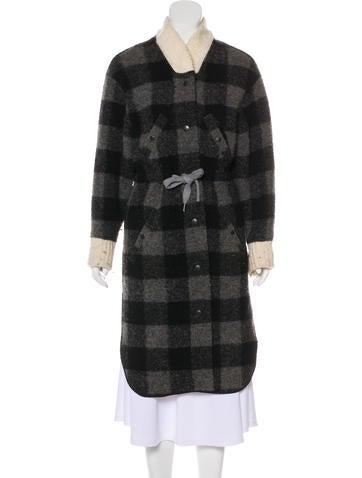 Isabel Marant Wool-Blend Long Coat None
