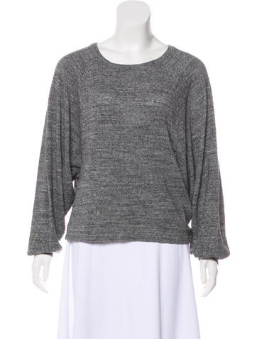 Isabel Marant Dolman Sleeve Knit Sweatshirt None