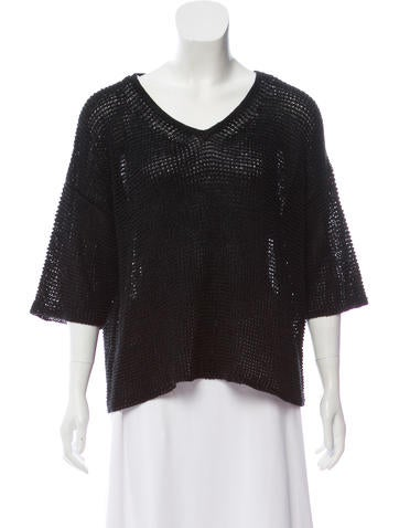 Isabel Marant Linen Oversize Sweater w/ Tags None