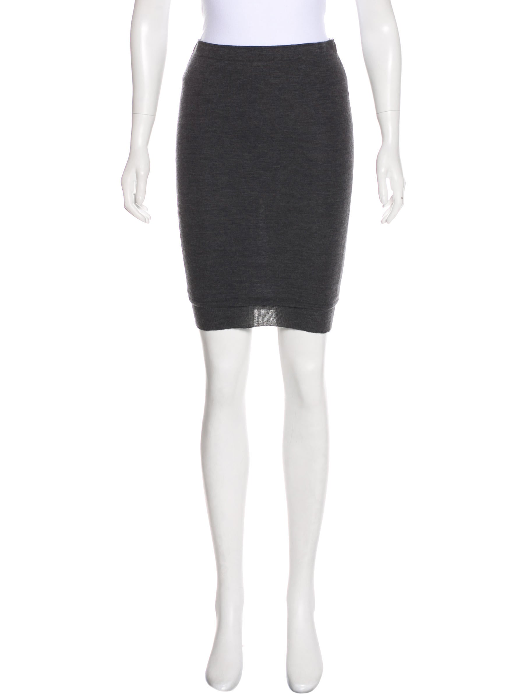 Isabel Marant Cashmere Knee-Length Skirt Best Buy Recommend Sale Online Cheap Sale Low Cost Brand New Unisex Sale Online 1DA8B50h