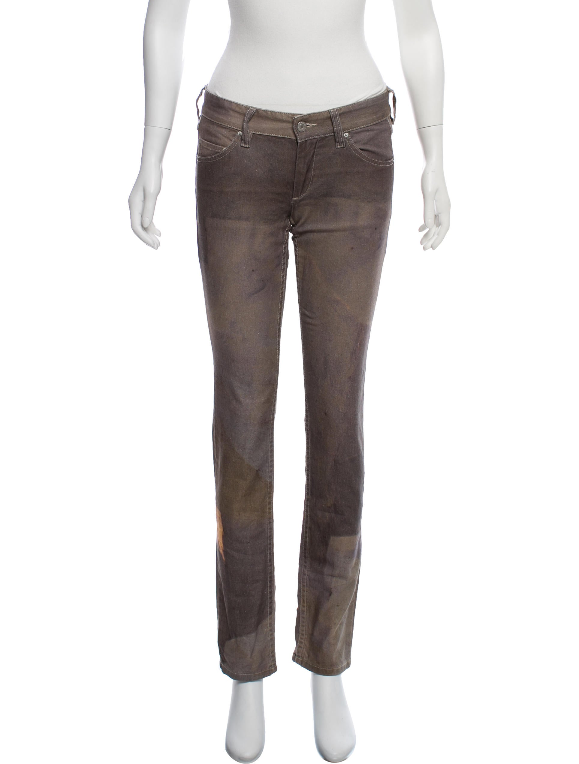 Mid Rise Straight Leg Jeans by Isabel Marant