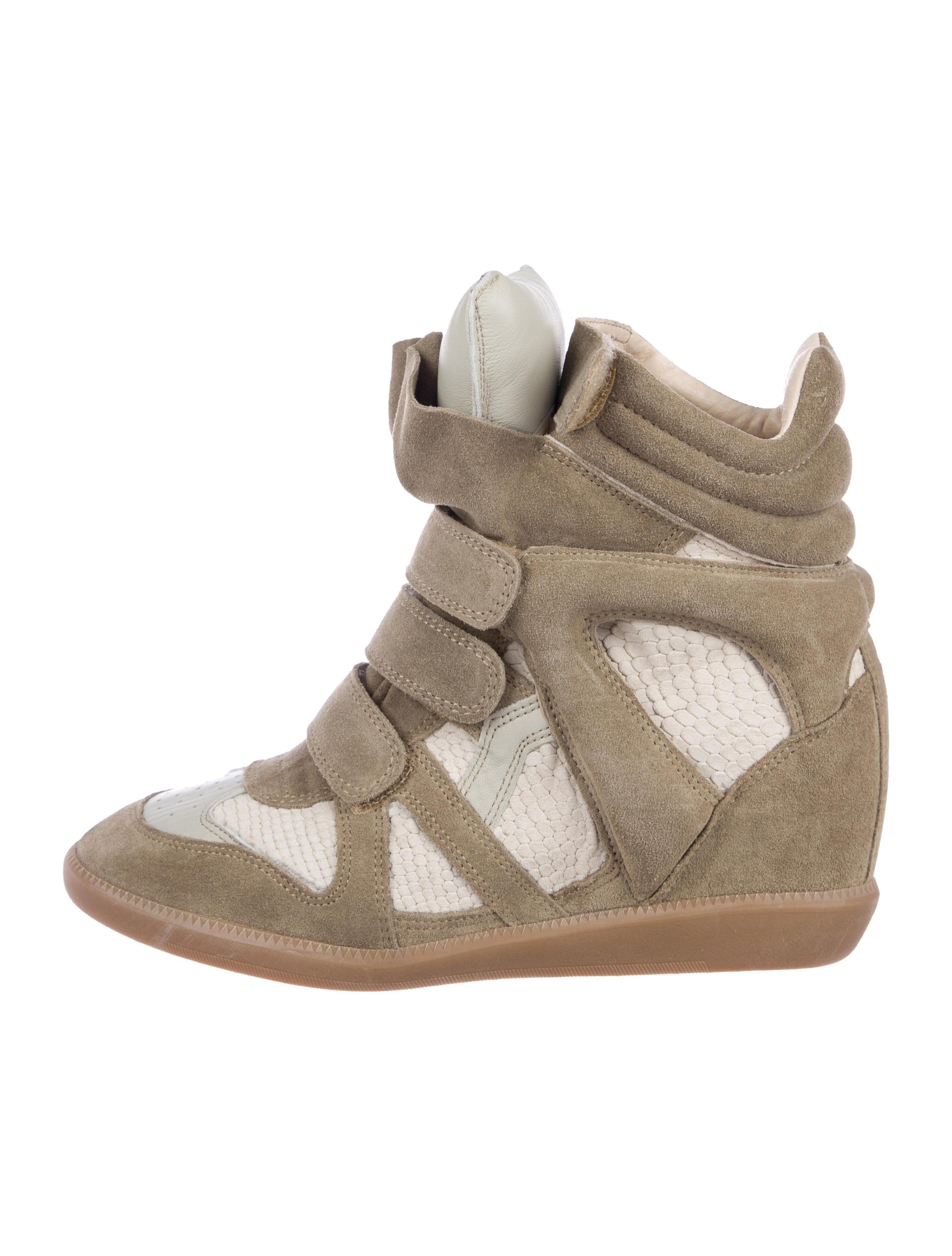 b609de53cb8e Isabel Marant Bazil Wedge Sneakers - Shoes - ISA65754