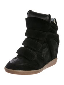 82b8496cc9 Isabel Marant. Suede Sneaker Wedges. Size: US ...