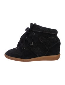 8db653a99b Isabel Marant. Bobby Wedge Sneakers. Size: US ...