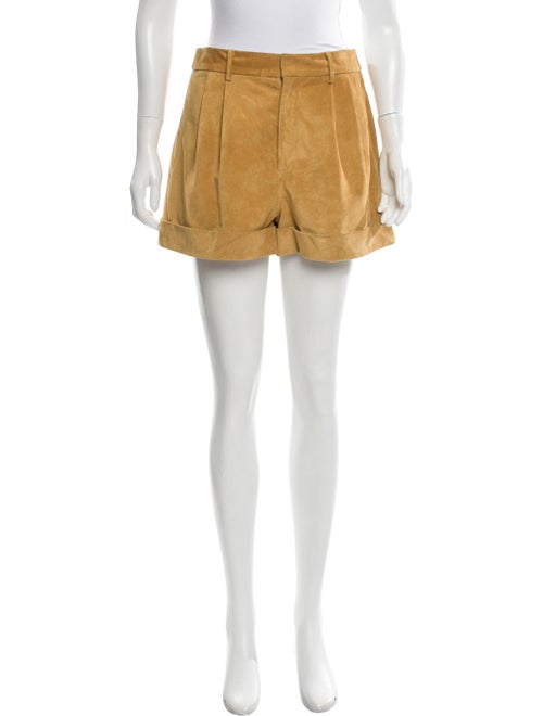 Isabel Marant Suede High-Rise Shorts w/ Tags
