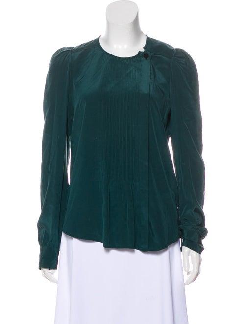Isabel Marant Long Sleeve Silk Blouse