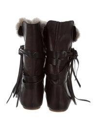 Nia Rabbit Fur Boots image 4