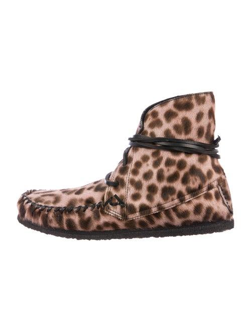 Isabel Marant Isabel Marant Printed Ponyhair Boots