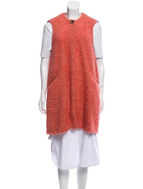 Isabel Marant Textured Knit Vest Pink