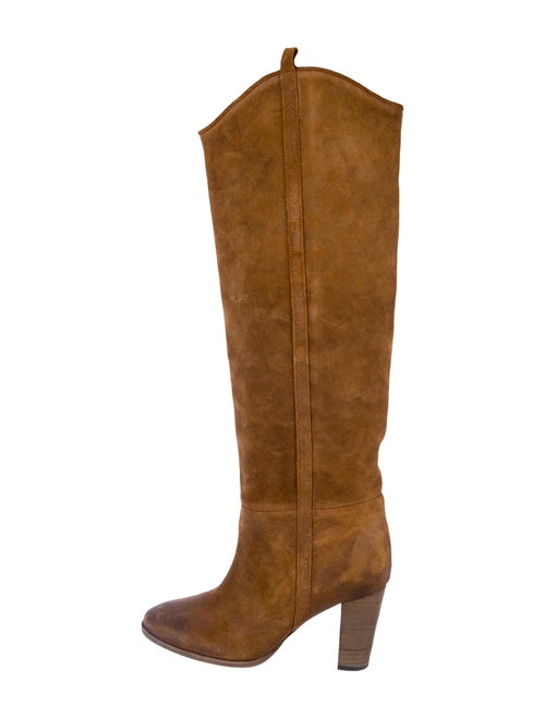 Isabel Marant Suede Over-The-Knee Boots