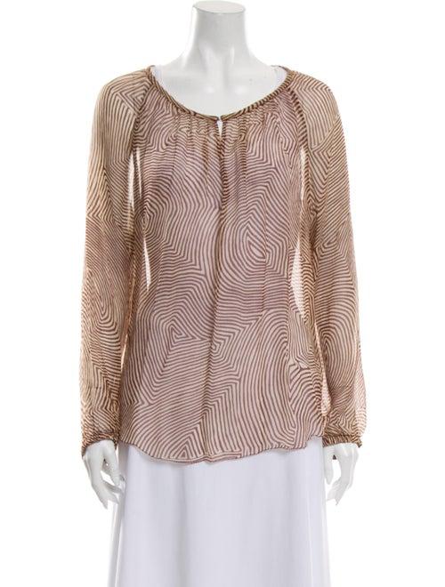 Isabel Marant Silk Printed Blouse