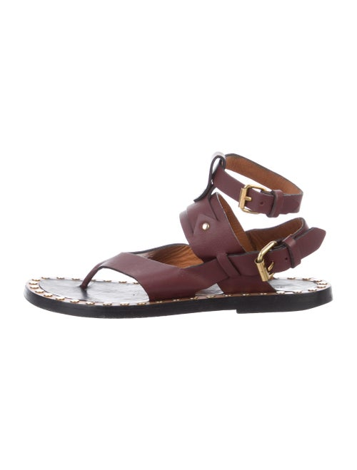 Isabel Marant Leather Thong Sandals