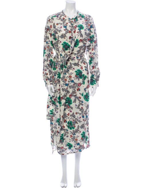 Isabel Marant Silk Long Dress