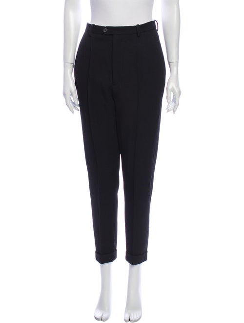 Isabel Marant Wool Straight Leg Pants Wool