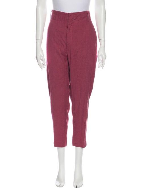 Isabel Marant Linen Straight Leg Pants w/ Tags Pin