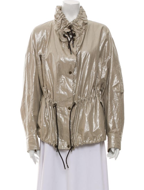Isabel Marant Biker Jacket Metallic