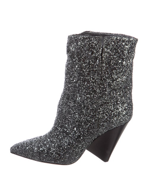 Isabel Marant Luliana Boots Silver