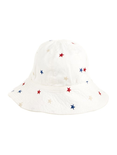 Isabel Marant Star Bucket Hat White