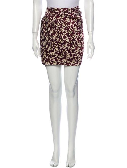 Isabel Marant Printed Mini Skirt