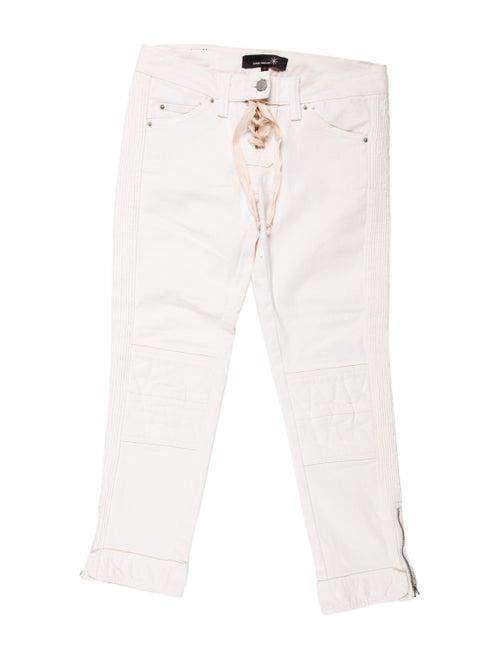 Isabel Marant Low-Rise Straight Leg Jeans