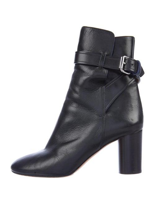 Isabel Marant Leather Boots Black