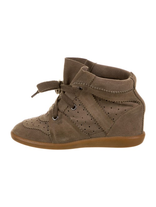 Isabel Marant Wedge Sneakers Brown