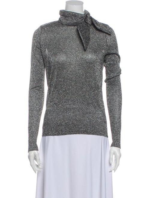 Isabel Marant Turtleneck Sweater Silver