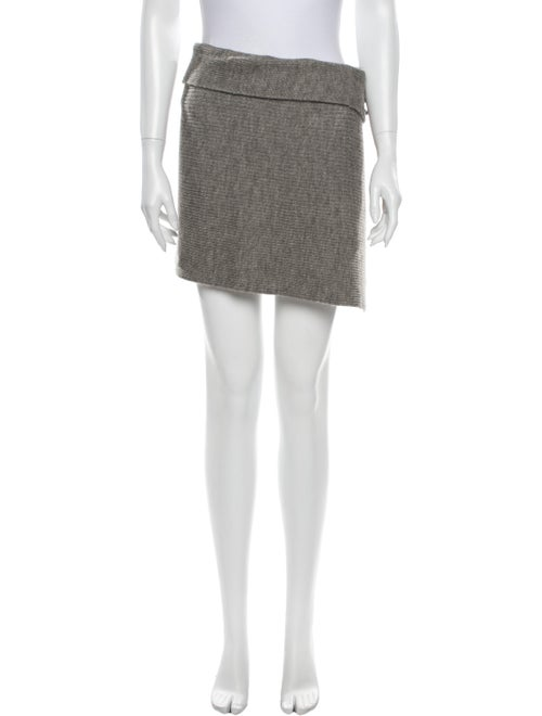 Isabel Marant Mini Skirt Grey