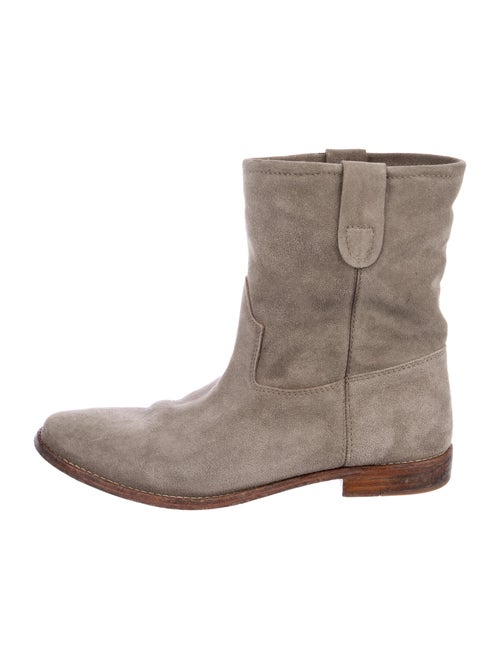 Isabel Marant Suede Boots Grey