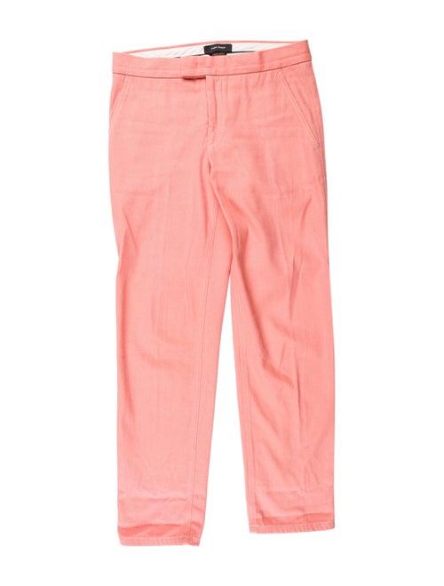 Isabel Marant Straight Leg Pants Pink