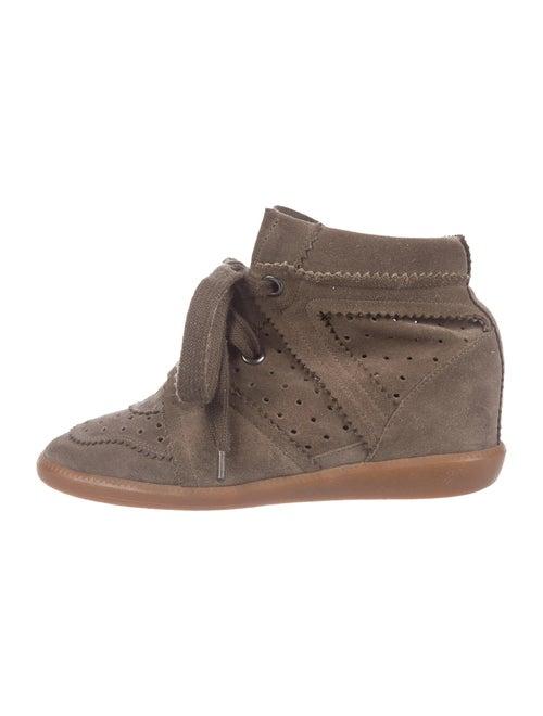Isabel Marant Bobby Wedge Wedge Sneakers