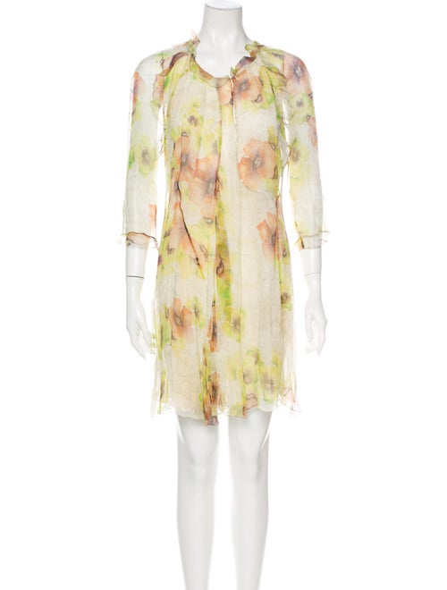 Isabel Marant Silk Knee-Length Dress