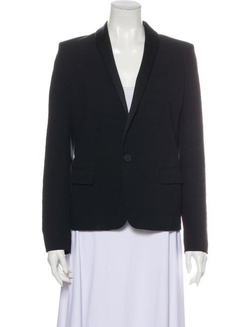Isabel Marant Linen Blazer Black