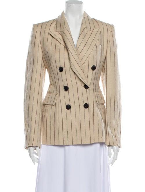 Isabel Marant Linen Striped Blazer