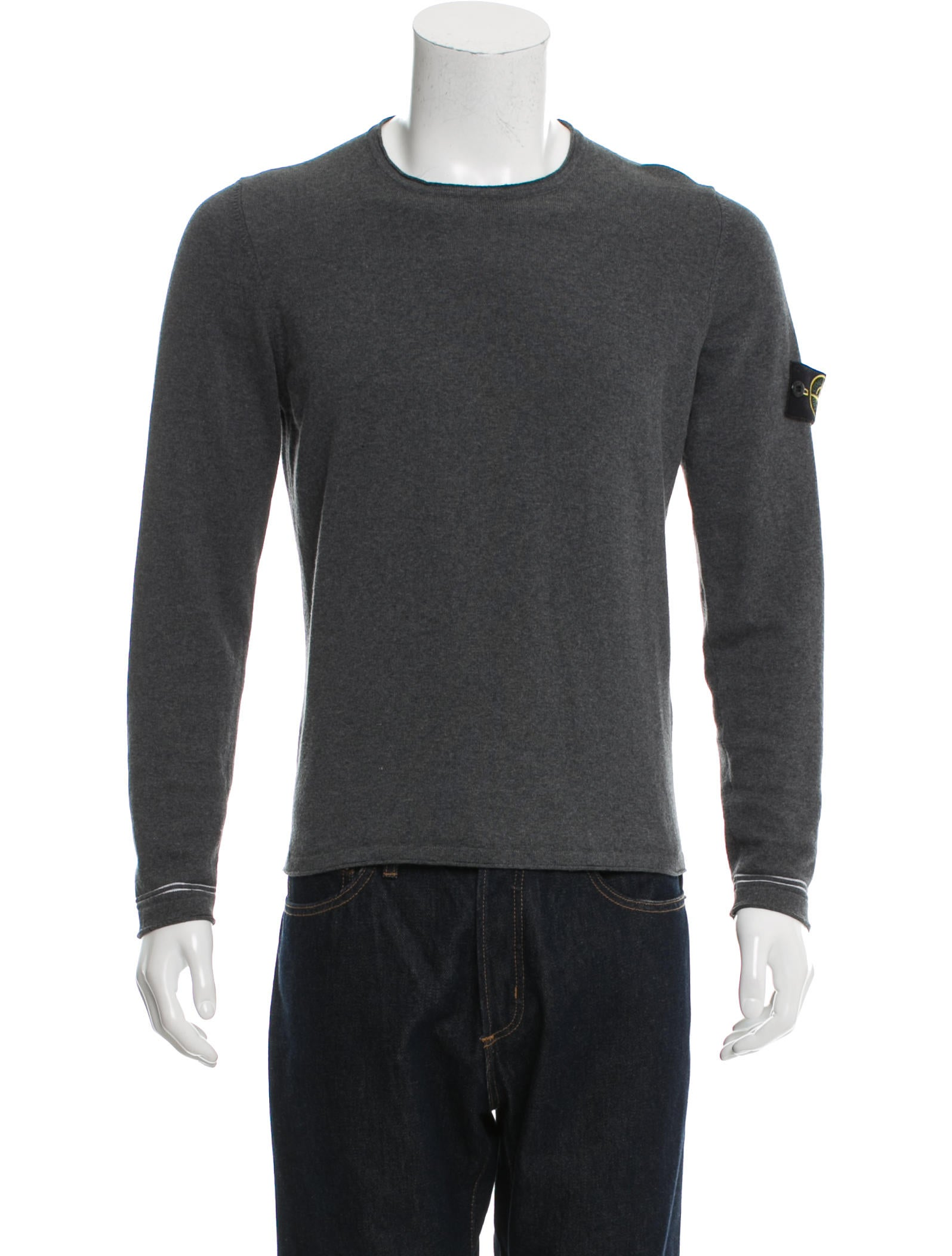 stone island pullover scoop neck sweater clothing isd20219 the realreal. Black Bedroom Furniture Sets. Home Design Ideas