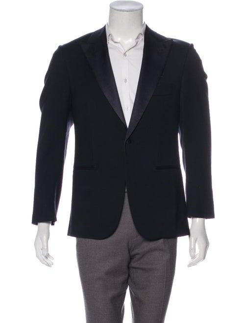 Isaia Wool Tuxedo Jacket wool