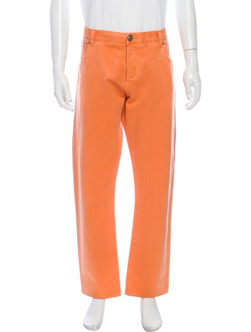 Isaia Pants Orange