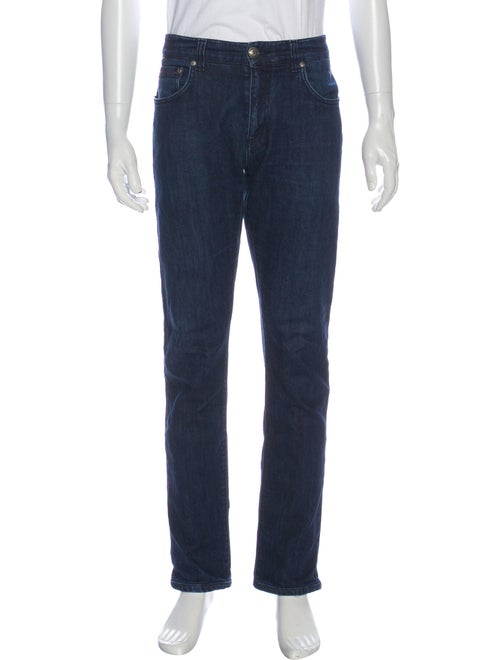 Isaia Skinny Jeans Blue