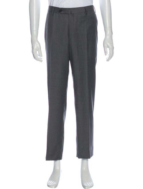 Isaia Wool Dress Pants Wool