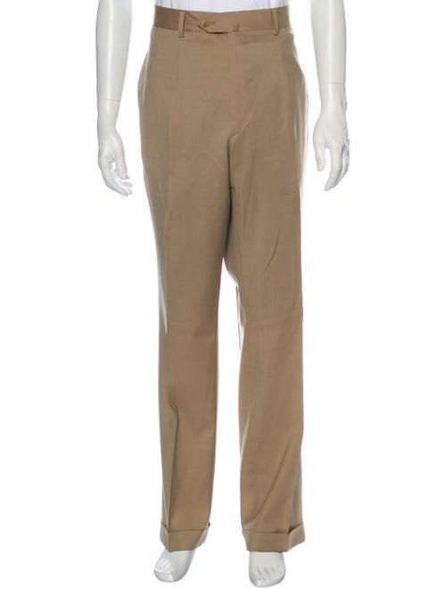 Isaia Dress Pants Brown