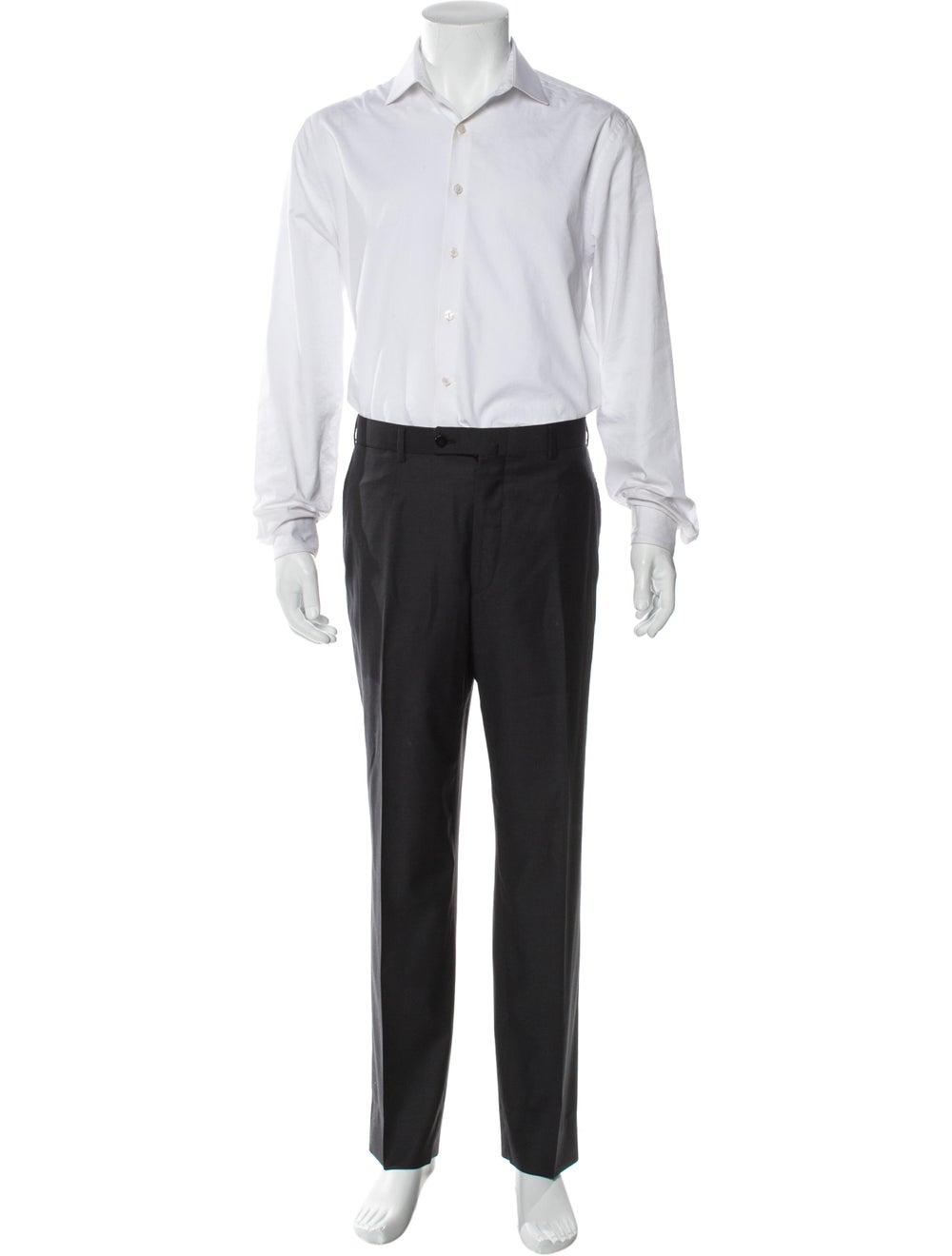 Isaia Wool Two-Piece Suit Wool - image 4