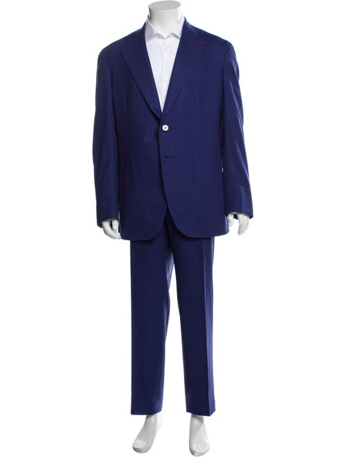 Isaia Wool Two-Piece Suit Wool
